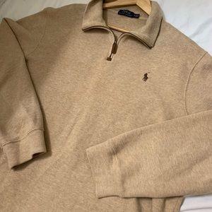 Polo Ralph Lauren 1/4 Zip Sweater - XL